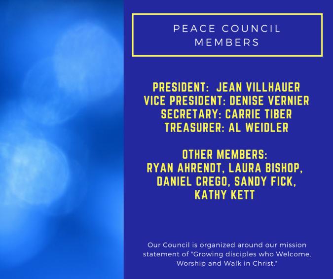 Peace Council Members
