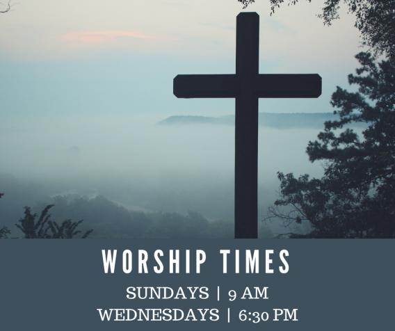 Fall Worship Times